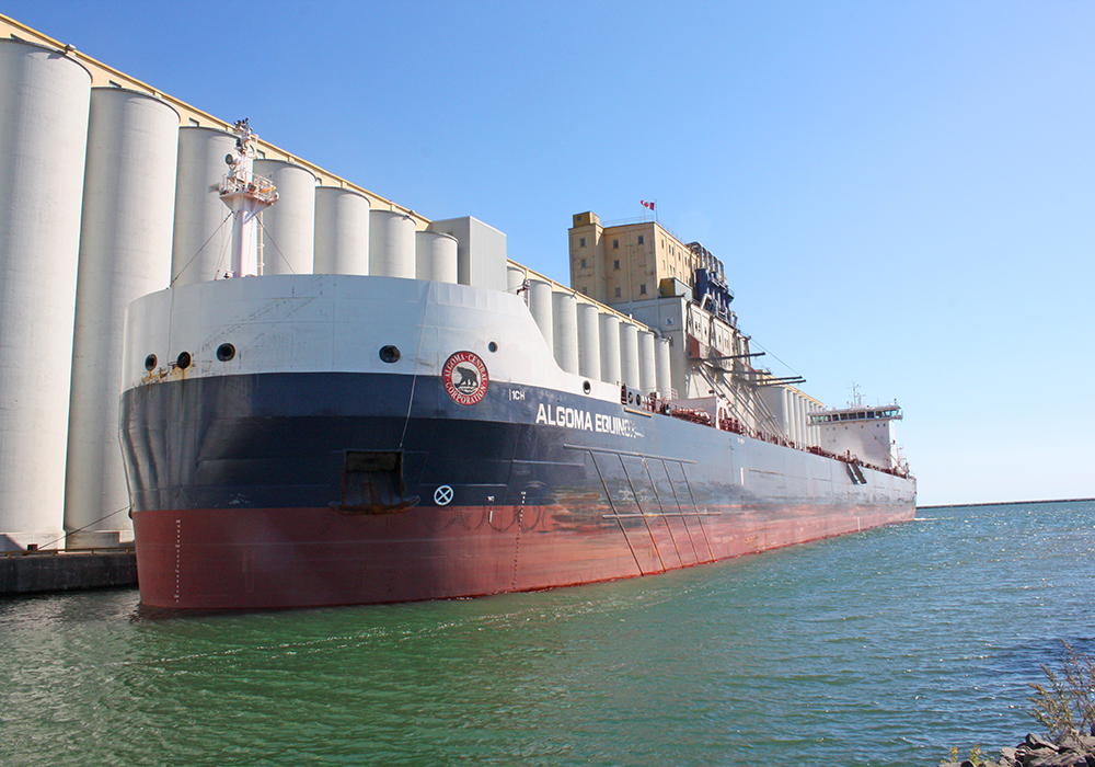 Grain loading operations at the port were expected to increase quickly. | Port of Thunder Bay photo