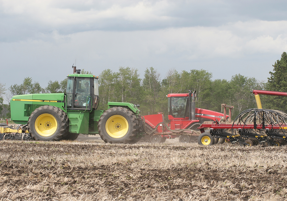 Many producers have been practising direct seeding and minimum tillage for 20 or 30 years. Just think of all the sequestered carbon and how much money is involved. | File photo