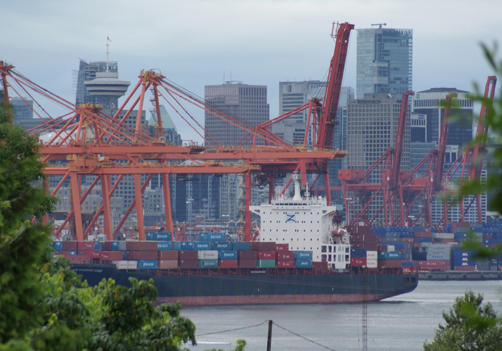 The line-up of ships at Vancouver fell to only 15 in week 34 to March 30, down from around 30 in weeks 25 to 30. | File photo