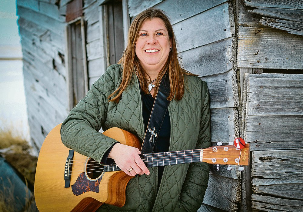 Corinne Newton describes her music as a traditional sound that lyrically, tells stories of prairie people. | Shelby Godick photo