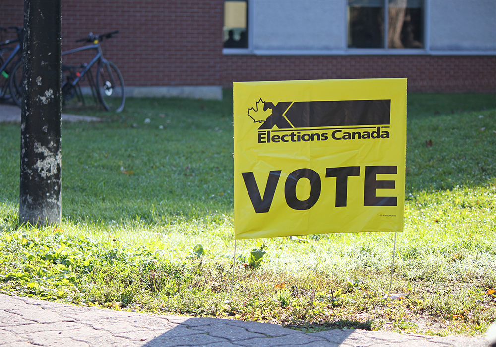 WP news editor Bruce Dyck shares his thoughts on the election as we prepare to head to the polls. | Elections Canada photo